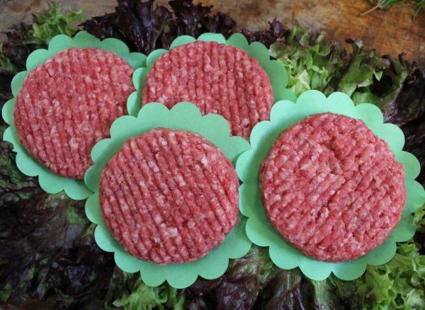 Hamburgers e-nummervrij 10