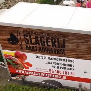 koelwagen slagerij bart adriaanse huren