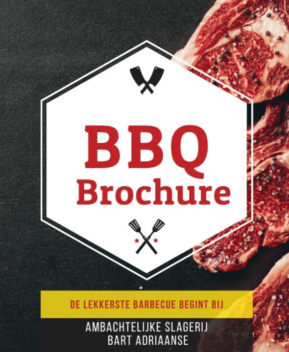 Download onze BBQ Brochure