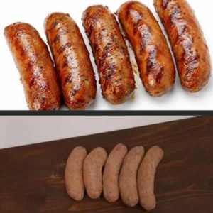 Duo barbecueworst