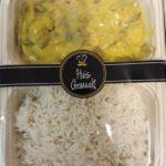 Kipkerrie met rijst