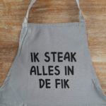 Schort Ik Steak alles in de fik