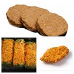 vlugklaar combinatiepakket hamburgers, kipkrokant en stammetjes